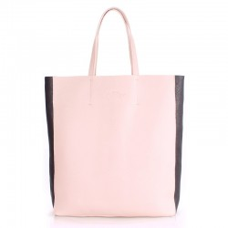 Двухцветная сумка Poolparty City 2 (бежевый)