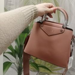 Женская сумка клатч с широким ремнем