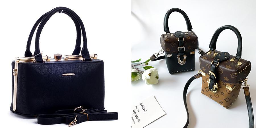 Модные саквояжи и сумки-коробки