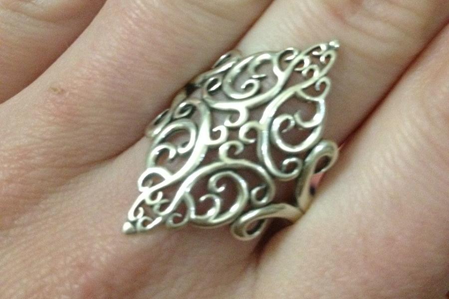 Кольцо в этно стиле №2630