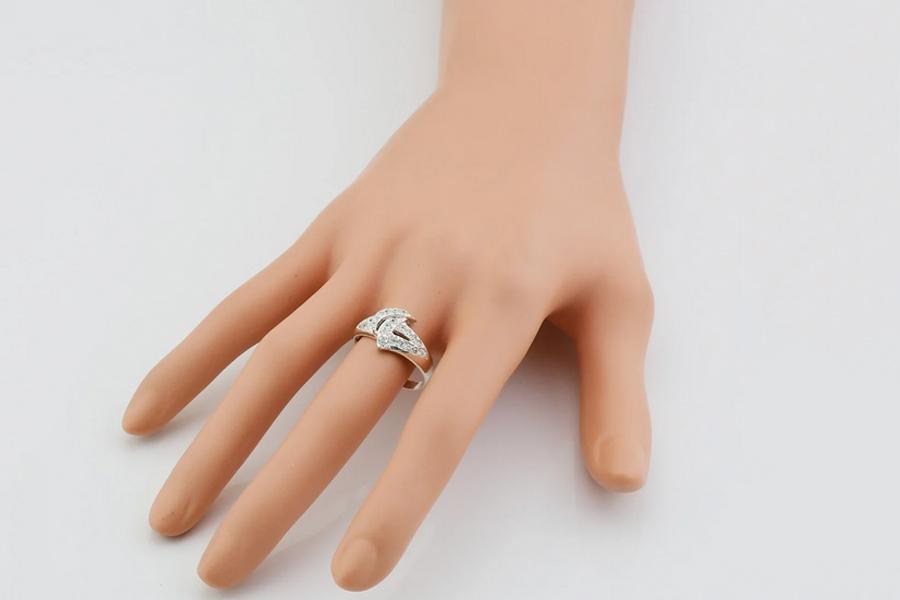 Кольцо из серебра Анна