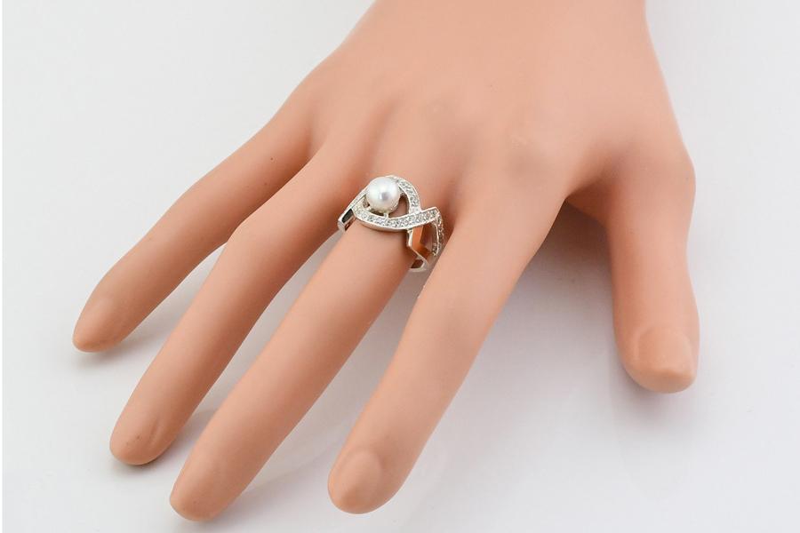 Серебряное кольцо Луиза