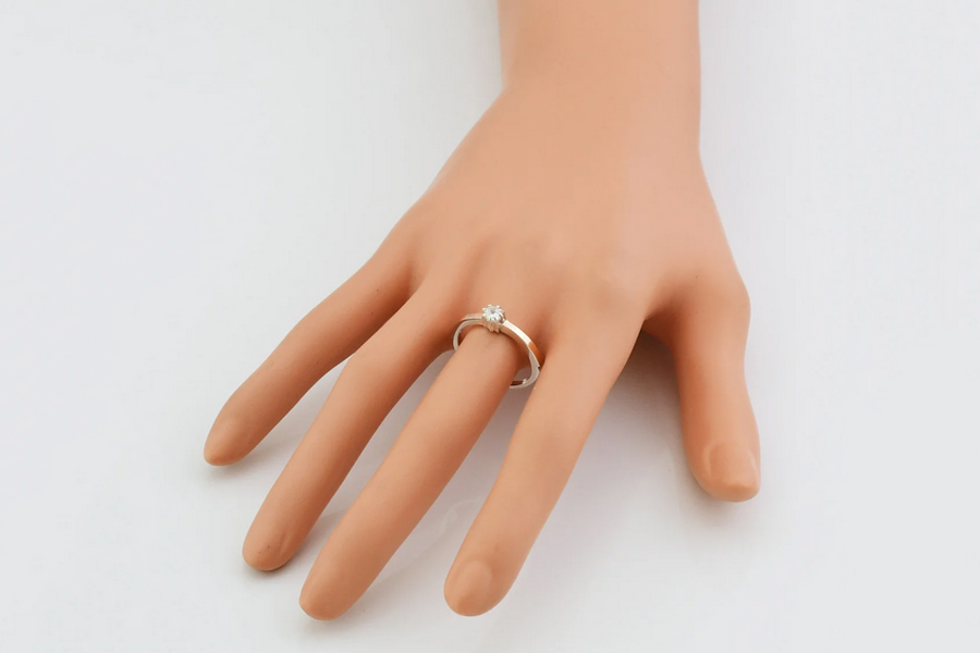 Кольцо Вик из серебра