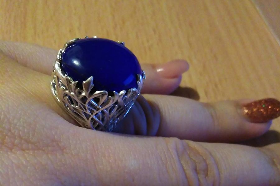 Перстень Мадонна иск лазурит