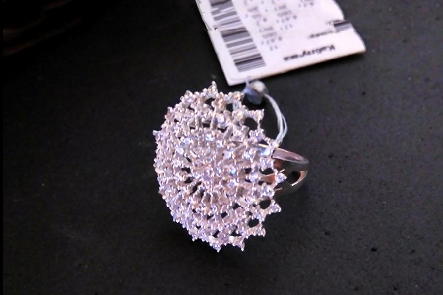 Серебряное кольцо Барселона