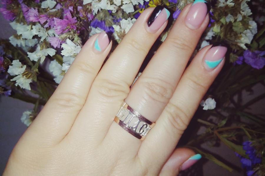 Серебряное кольцо Спаси
