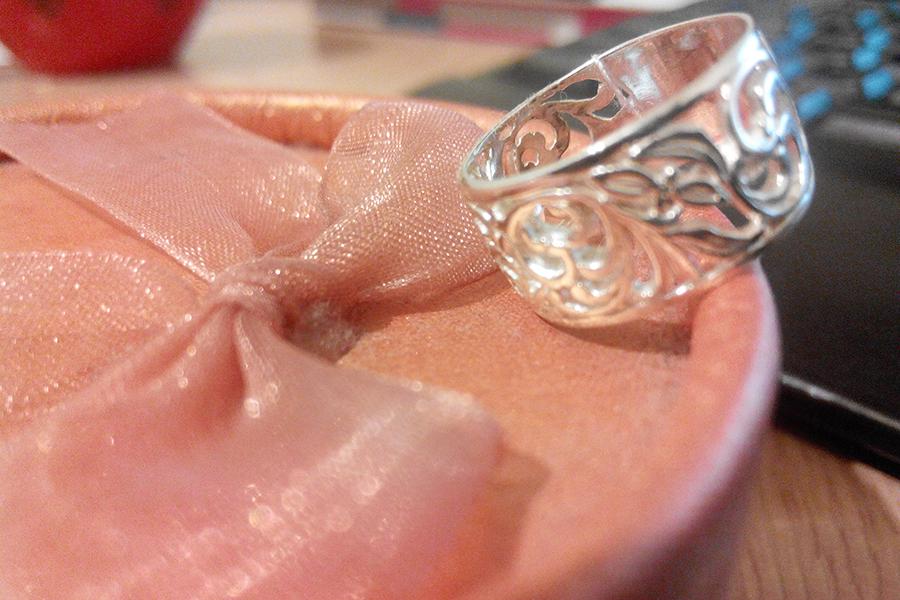 Кольцо из серебра Сказка