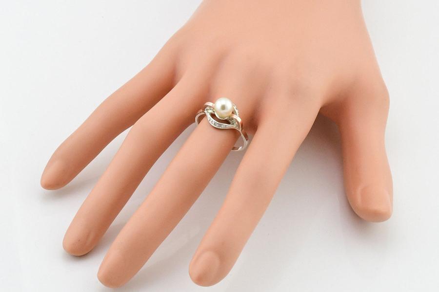 Серебряне кольцо Улыбка
