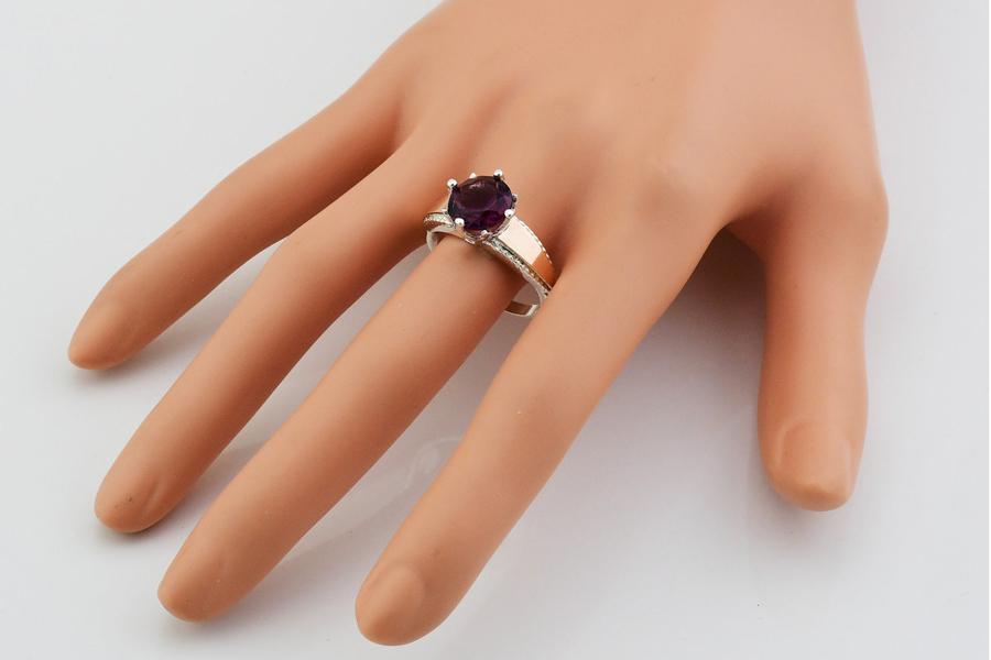 Серебряное кольцо Лада
