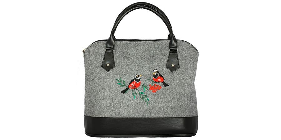 Мода сумка из войлока